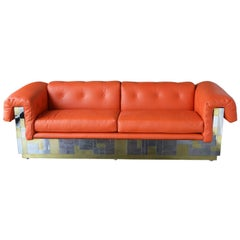 Cityscape Sofa by Paul Evans