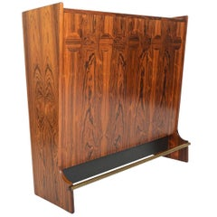 Johannes Andersen Rosewood Freestanding Cocktail Bar