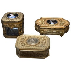 Set of 19th Century Boxes