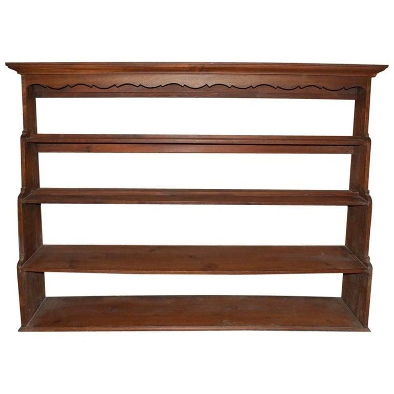 19th Century Welsh Dresser Plate Rack