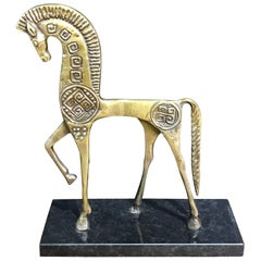 Bronze Horse Sculpture in the Style of Frederick Weinberg