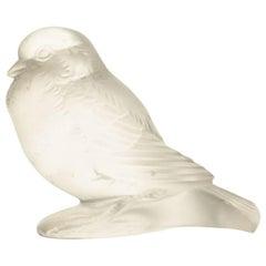 """René Lalique """"Moineau Fier"""" Paperweight"""