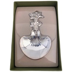 "Christofle Plated Silver Berry/Candy Serving Spoon for ""La Paiva"", Early 1900s"