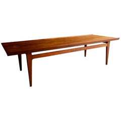Danish Finn Juhl Coffee Table Teak Lounge Table by France & Son Model 532