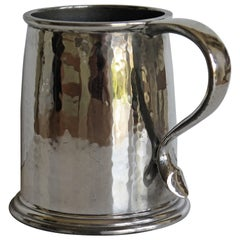 Liberty Tudric Pewter Tankard or Mug Arts and Crafts Period, circa 1908