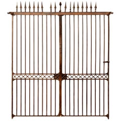 Directoire Wrought Iron Gate, 19th Century
