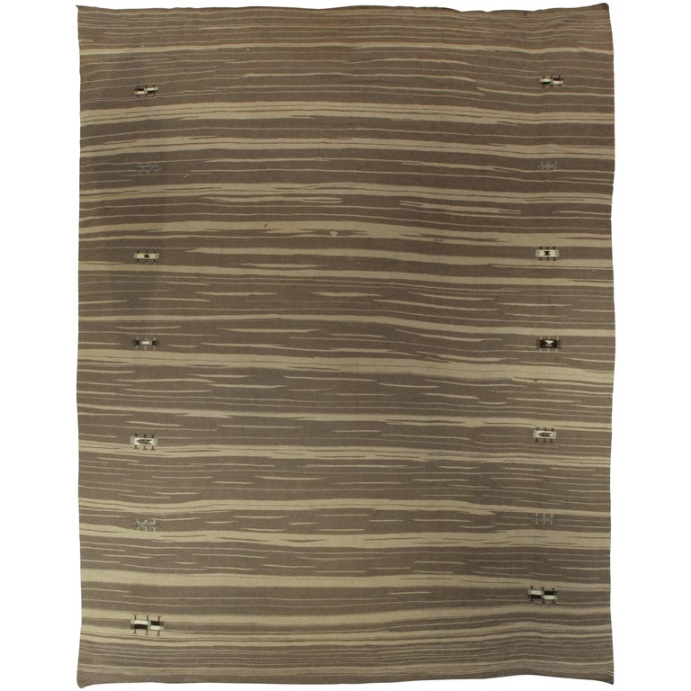 Brown Stripes Rug