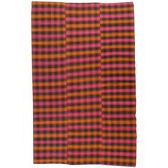 Plaid Cover Rug