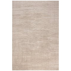 Modern Terra Rug in Natural Wool
