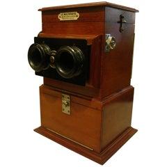 "Stereoscope ""Le Multiphote"" Photogragh, France, 1900s"