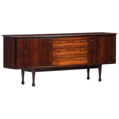 Midcentury Rosewood Sideboard from Kenia, Unique Piece