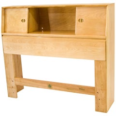 Blond Heywood Wakefield Twin Size Bookcase Headboard
