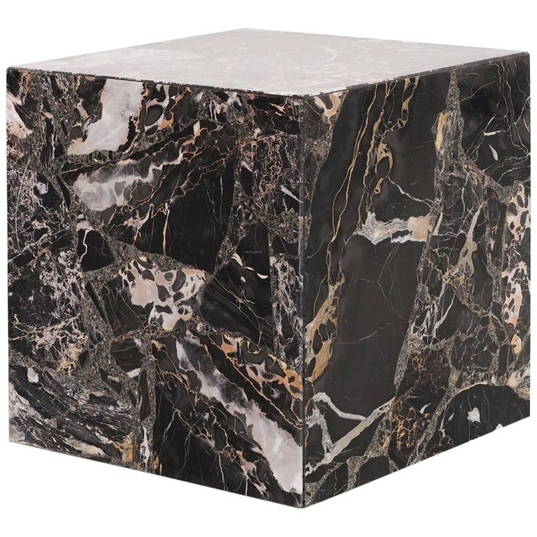 Italian Marble Custom Made Side Table