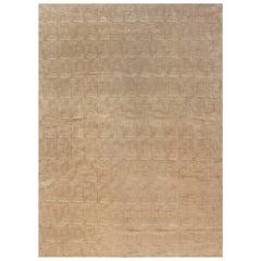 Maze Designed Geometric Carpet