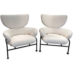 "Armchairs ""Tre Pezzi Pl19"" by Franco Albini and Franca Helg"