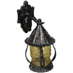 Gothic Style 1920s Outdoor Lantern