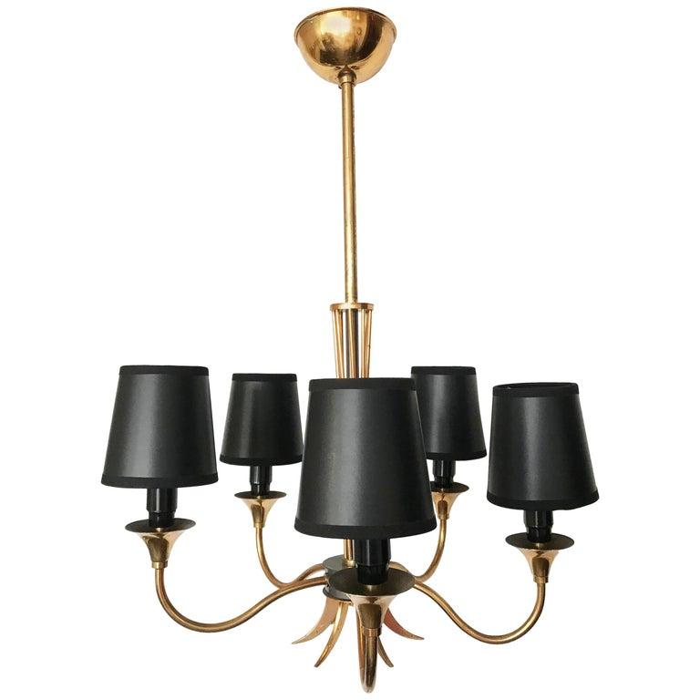 Maison Lunel Five-Light Chandelier