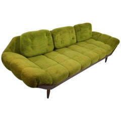 Green Shag Sofa
