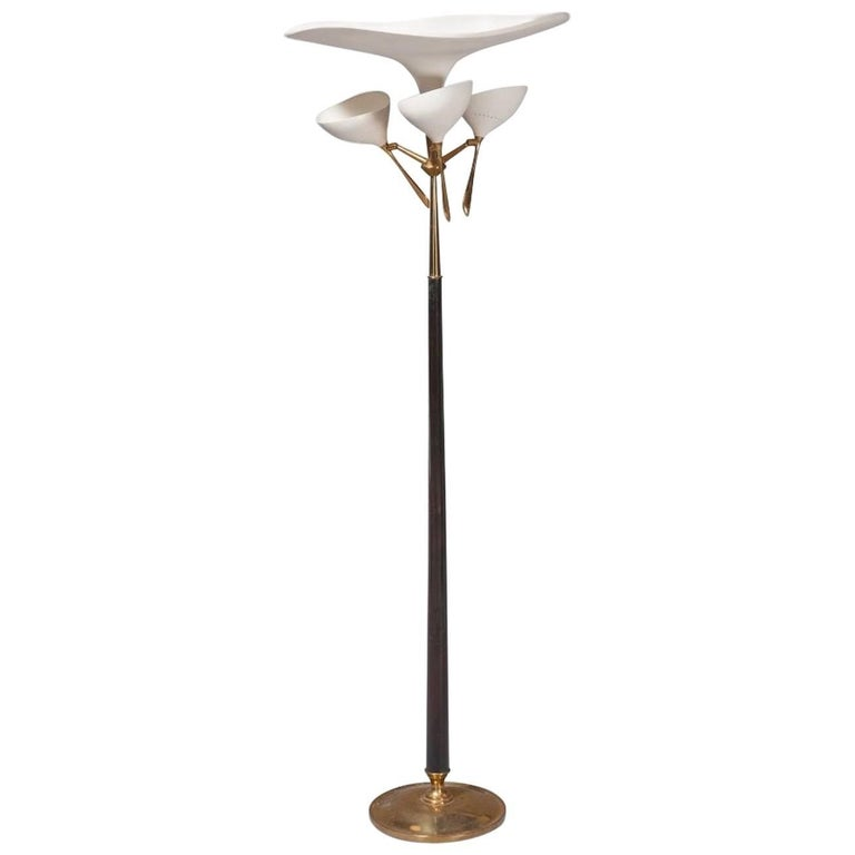 Extremely Rare Floor Lamp by Lumen Milano