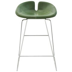 Fjord Counter Stool by Patricia Urquiola for Moroso with Fabric or Leather Seat