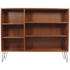 1960 Upcycled Midcentury Danish Teak Bookcase