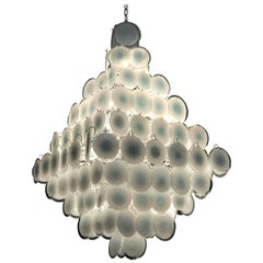 Majestic Murano Chandelier by Gino Vistosi, Italy, 1970s