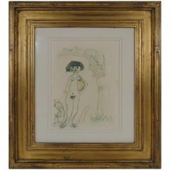 Kees van Dongen Signed Original Water Color