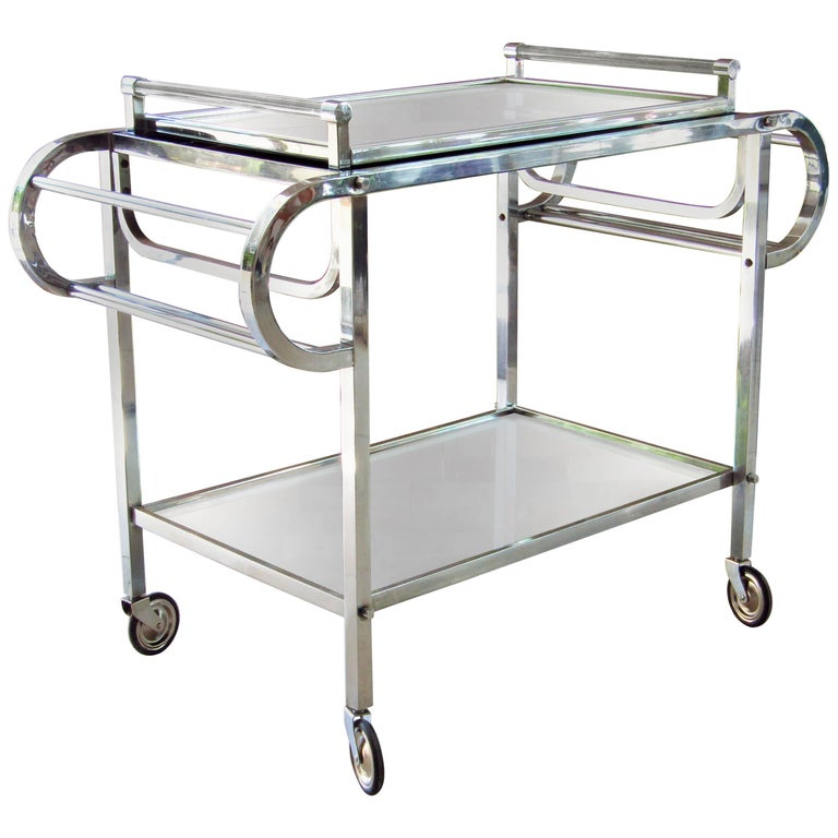 Art Deco Bar Cart France 1935 For