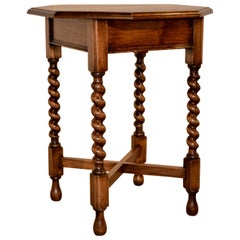 Late 19th Century Octagonal Table