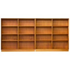 Pair of Teak Bookshelves by Bertil Fridhagen for Bodafors, Sweden, 1962