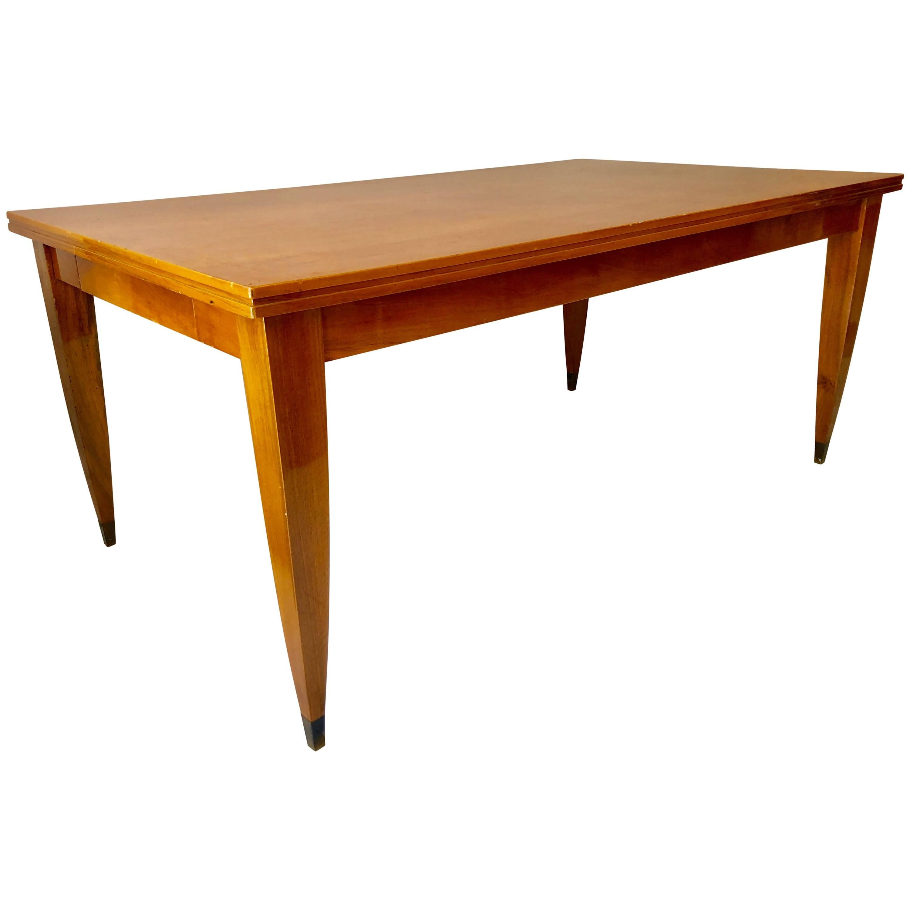 Gio Ponti Style Modern Italian Library or Dining Table