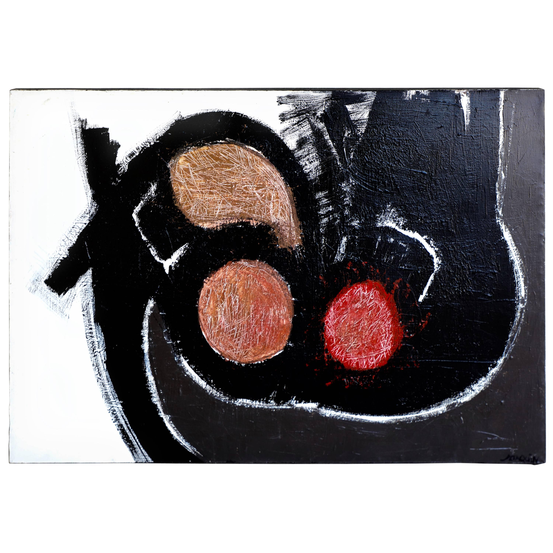 "Kenneth Joaquin Acrylic on Canvas Titled ""Sacred Grounds"""