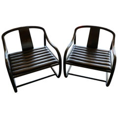 Pair of Raymond Jurado Designed Stylish Chairs