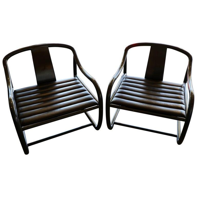 Pair of Raymond Jurado Designed Stylish Chairs
