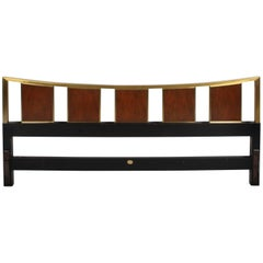 Mid-Century Modern Michael Taylor for Baker King Headboard