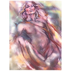 Modern Women Nude Painting on Canvas