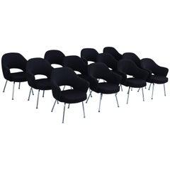 Twelve Eero Saarinen Executive Chairs