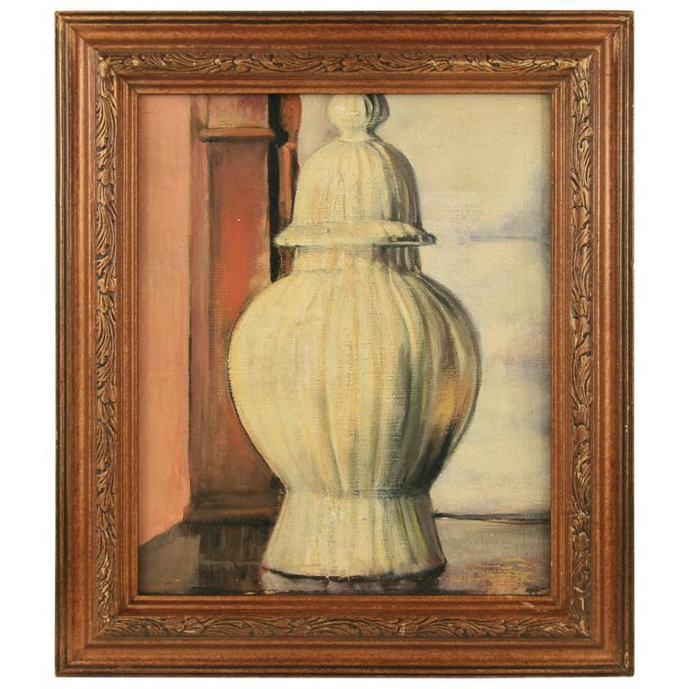 Urn Still Life Oil Painting