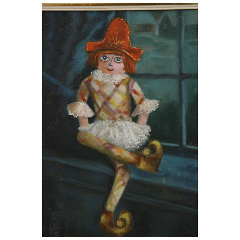 Harlequin Painting