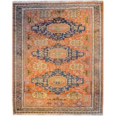 Unbelievable Late 19th Century Sumak Rug