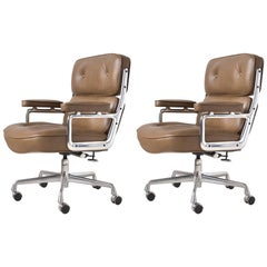 Charles and Ray Eames Pair of Time-Life Chairs by Herman Miller