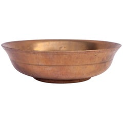 Tibetan Tsampa Bowl, Bronze, Tibet, Early to Mid-20th Century