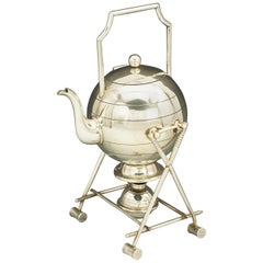 Antique Croquet Teapot