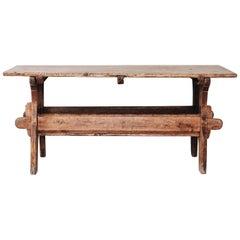 18th Century Trestle Table