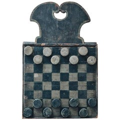 19th Century Checkers Game