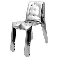Chippensteeel 0.5 Chair by Zieta Prozessdesign, Stainless Steel Inox Version