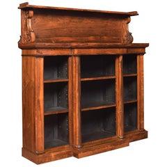 Regency Rosewood Open Bookcase by John Kendall