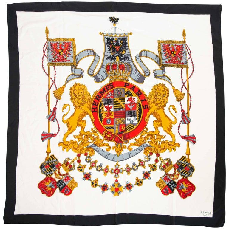Hermès Silk Scarf Made in Paris, France