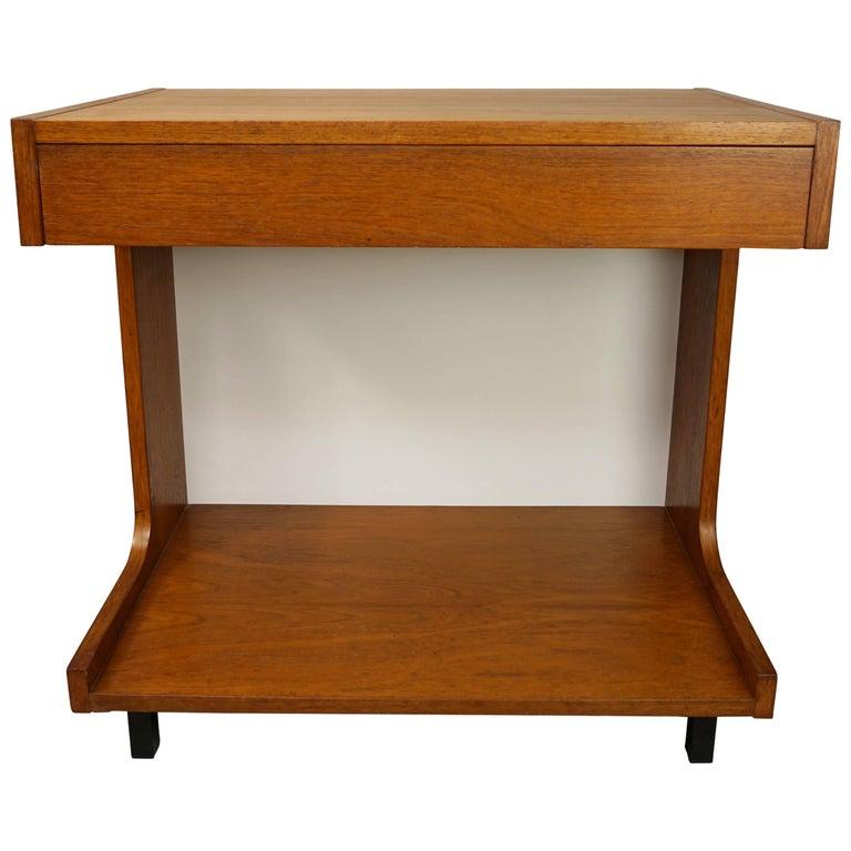 Wooden Teak Storage Cabinet Dutch Design from the 1950