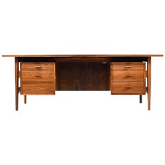 Fine Arne Vodder Rosewood Desk for Sibast Furniture, Denmark, 1960s